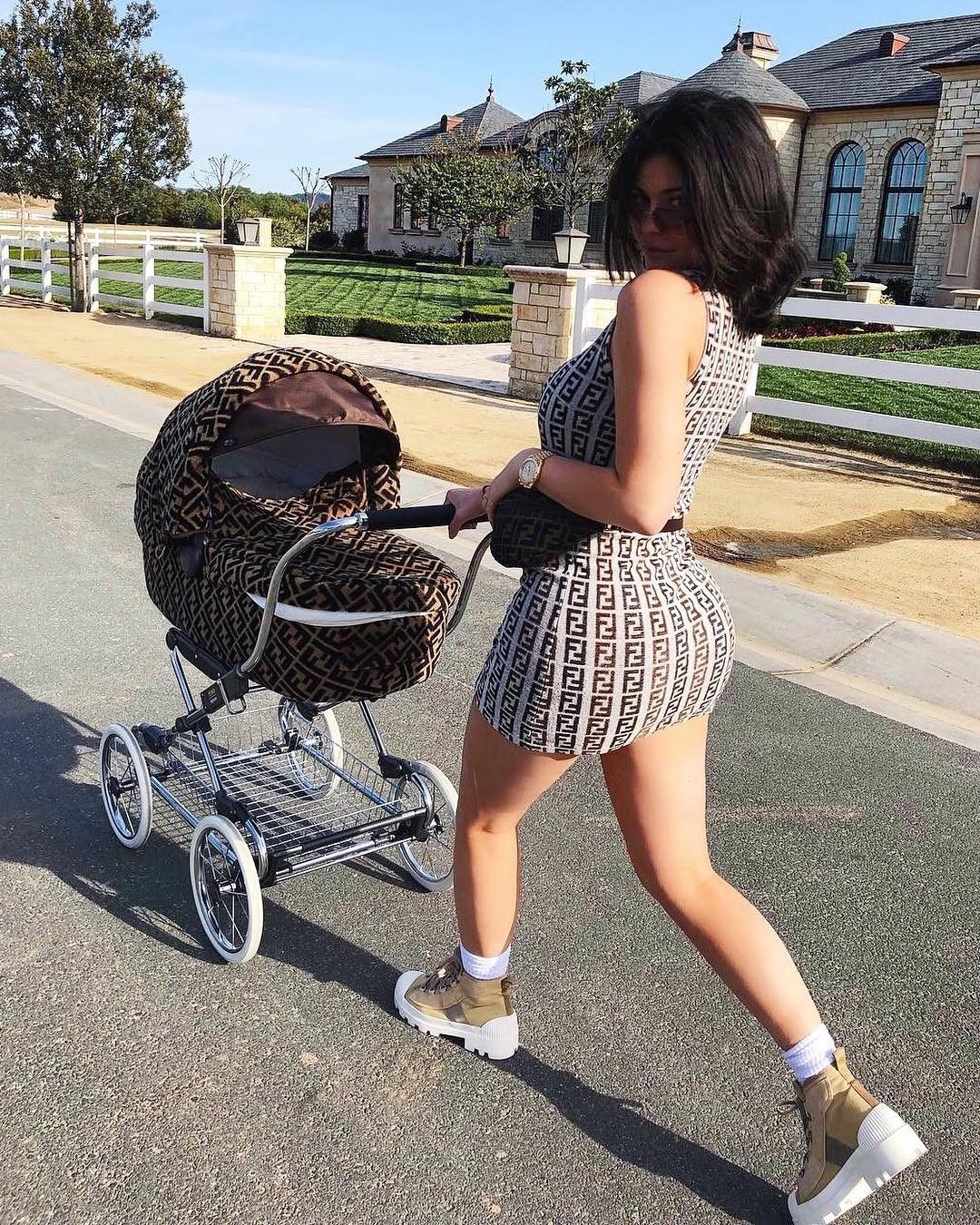 Kylie and Stormi Kardashian/Jenner in 2019 Kylie