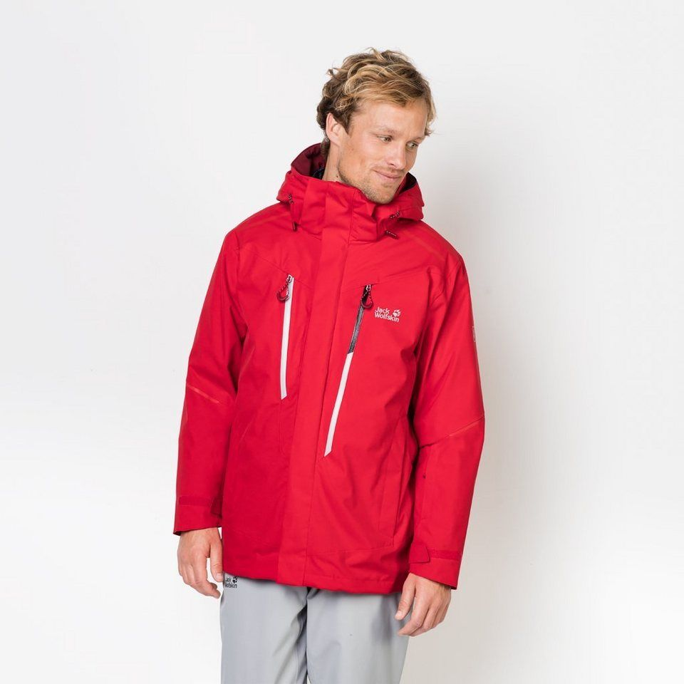 Jack Wolfskin 3 in 1 Funktionsjacke »EXOLIGHT 3IN1 MEN