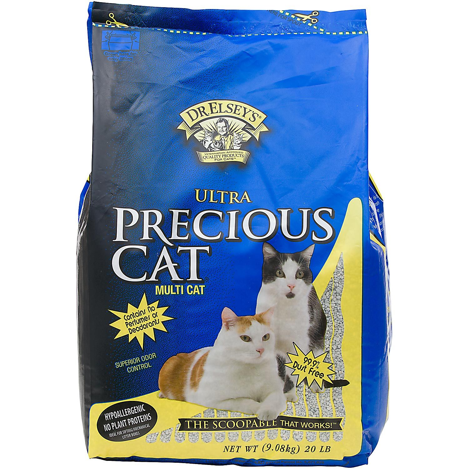 Precious Cat Dr Elsey S Ultra Scoopable Multi Cat Cat Litter Cat Medicine Cat Litter Litter