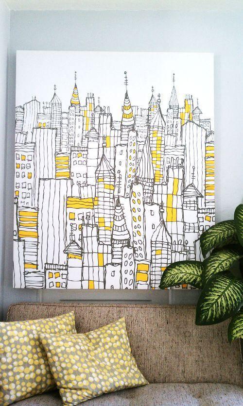 10 Effective DIY Wall Art Ideas | Walls, Craft and Diy wall art