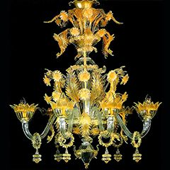 Venetian chandeliers glass art vases and sculptures pinterest venetian chandeliers aloadofball Gallery