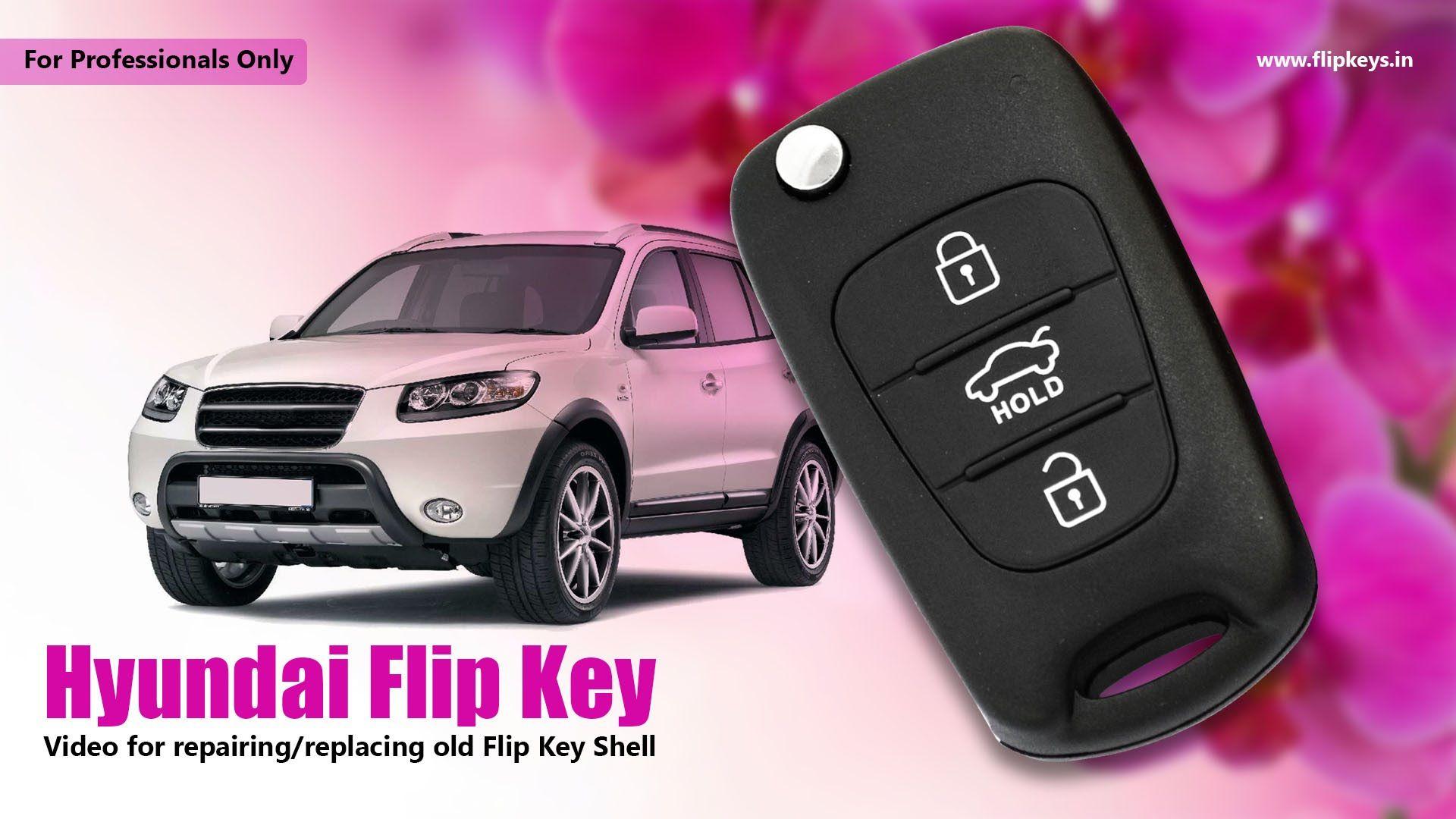 Hyundai Flip Key Shell Replacement Wish List Pinterest