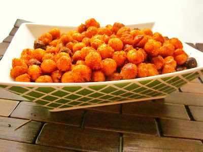 Around the Table: Loving Food in RI & Beyond : Super Snacks: Caliente Roasted Chickpeas