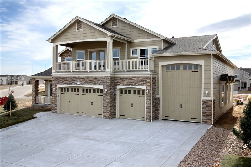 Apartment over garage designs high bay garages and rv for House plans with rv storage