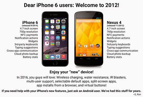 Queridos Usuarios De Iphone 6 Bienvenidos A 2012 Iphone Iphone 6 Iphones