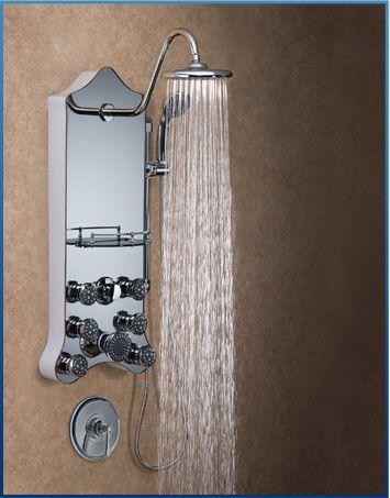Jet Pro Shower Spa Panel For Diy Renovation No Major