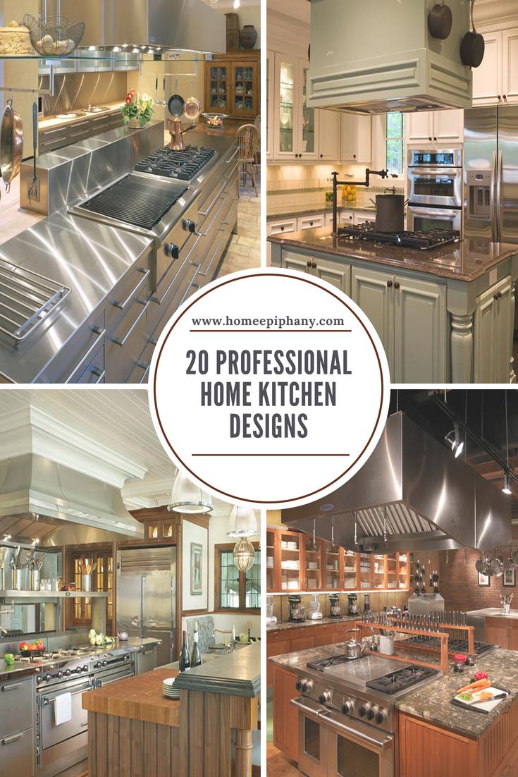 20 Professional Home Kitchen Designs | Home Design | Pinterest ...