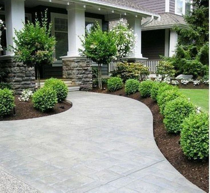 Curb Appeal Landscaping In 2020 Yard Landscaping Simple Front Yard Landscaping Design Front Yard Landscaping Simple