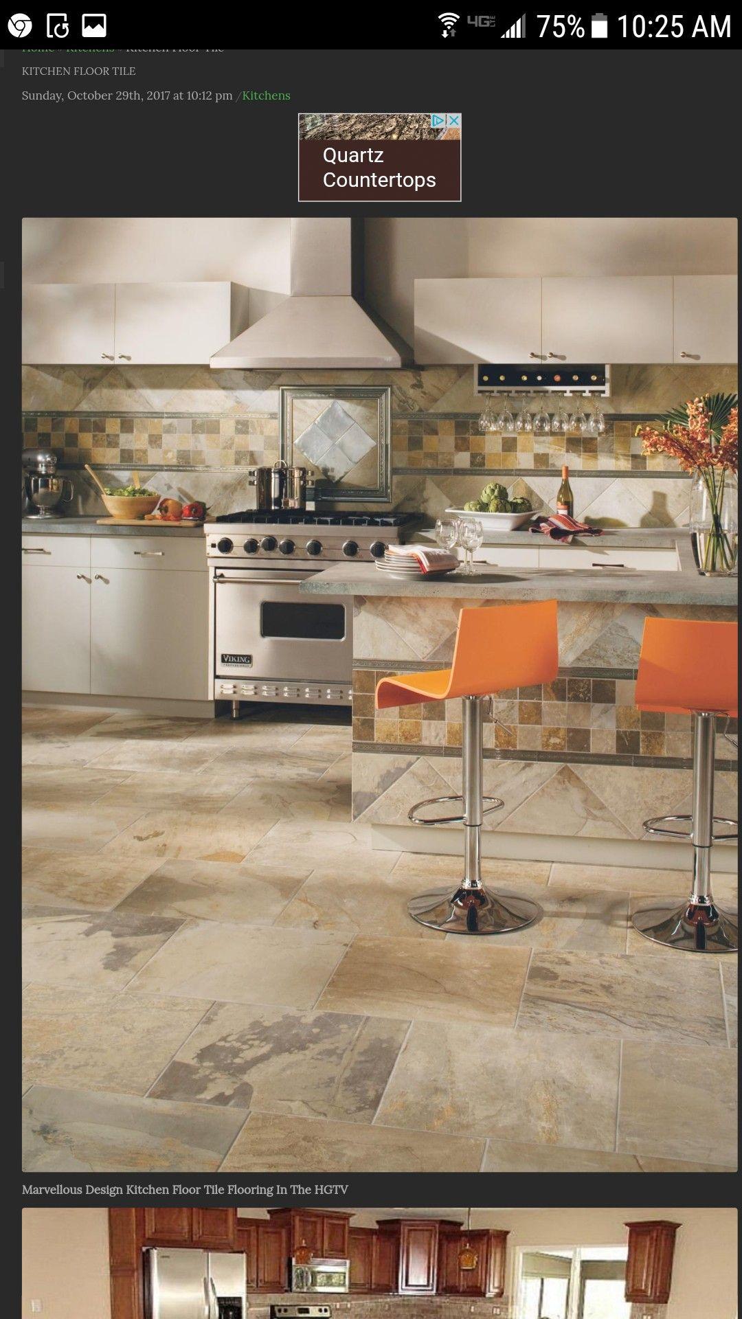 Kitchen Image By Susan Rudek Kitchen Flooring Modern Kitchen Flooring