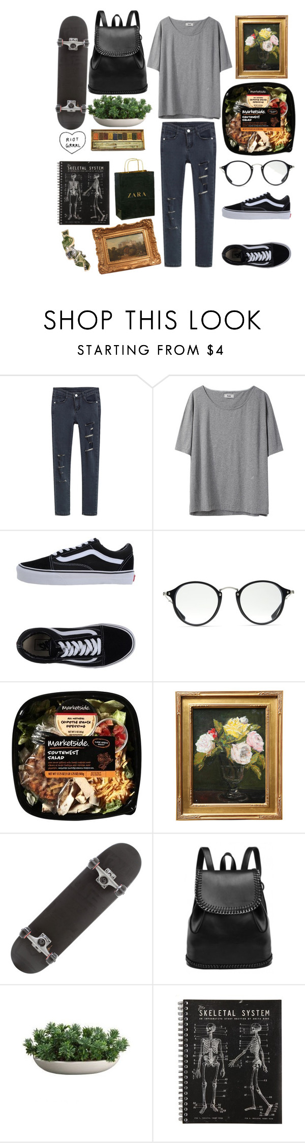 """""""830"""" by overy ❤ liked on Polyvore featuring Acne Studios, Vans, Ray-Ban, Zara and ...Lost"""