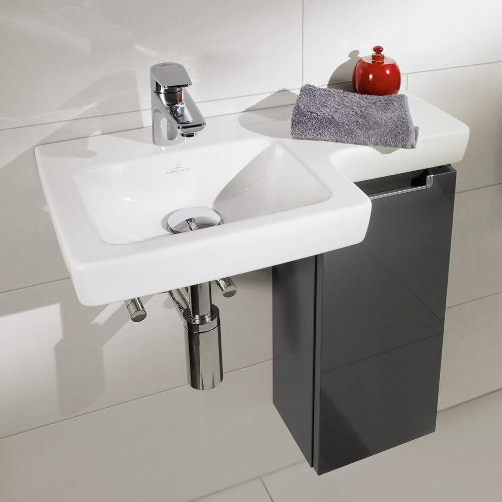 Villeroy Boch Subway 2 0 Waschtisch 41156l 01 Megabad Handtuchhalter Bad Waschtisch Gaste Wc
