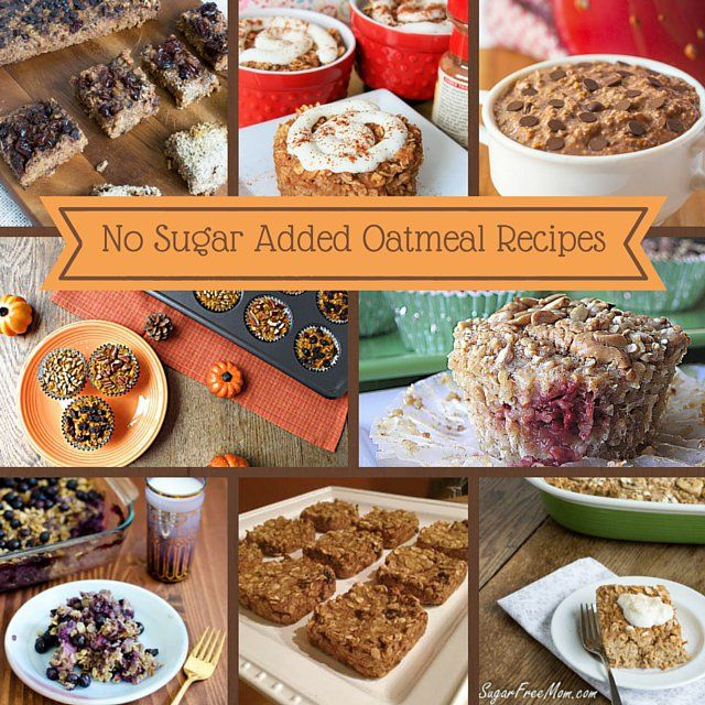 14 No Sugar Added Oatmeal Recipes