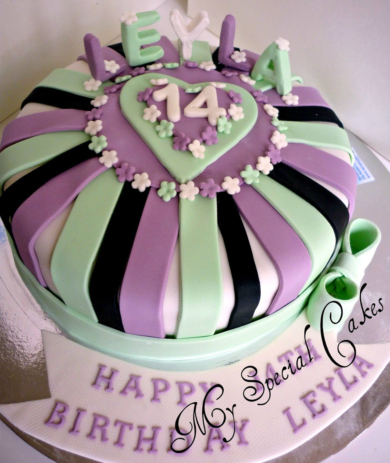14Th Birthday Cake Ideas