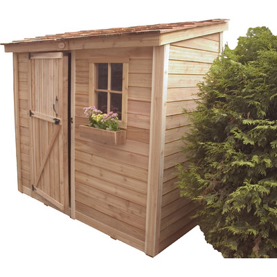 Outdoor Living Today Cabana 9 Ft. W X 6 Ft. D Wood Garden Shed