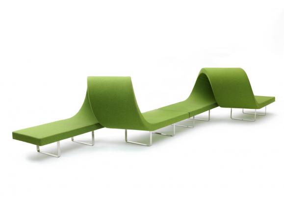 Canape Banquette Bartoli Design Highway 2 Modules Vert Anis Products En 2019 Mobilier Modulaire Canape Modulable Et Console Design