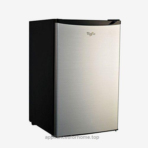 Whirlpool 43 CU FT Stainless Steel Compact Refrigerator Mini Fridge