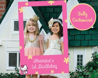 hello kitty photo booth prop – Etsy