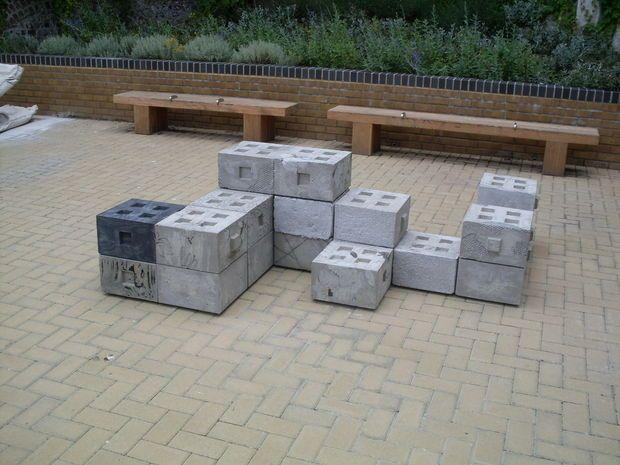 Concrete Lego Bricks Diy Concrete Lego Brick