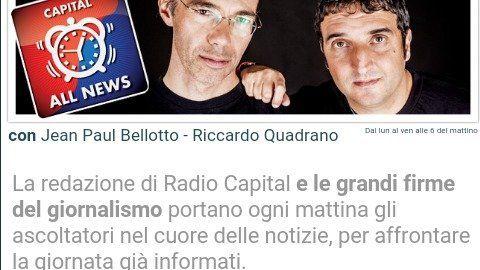 """Petizione · A tutti gli ascoltatori di Radio Capital: Non chiudiamo """"Capital All News"""" · Change.org"""