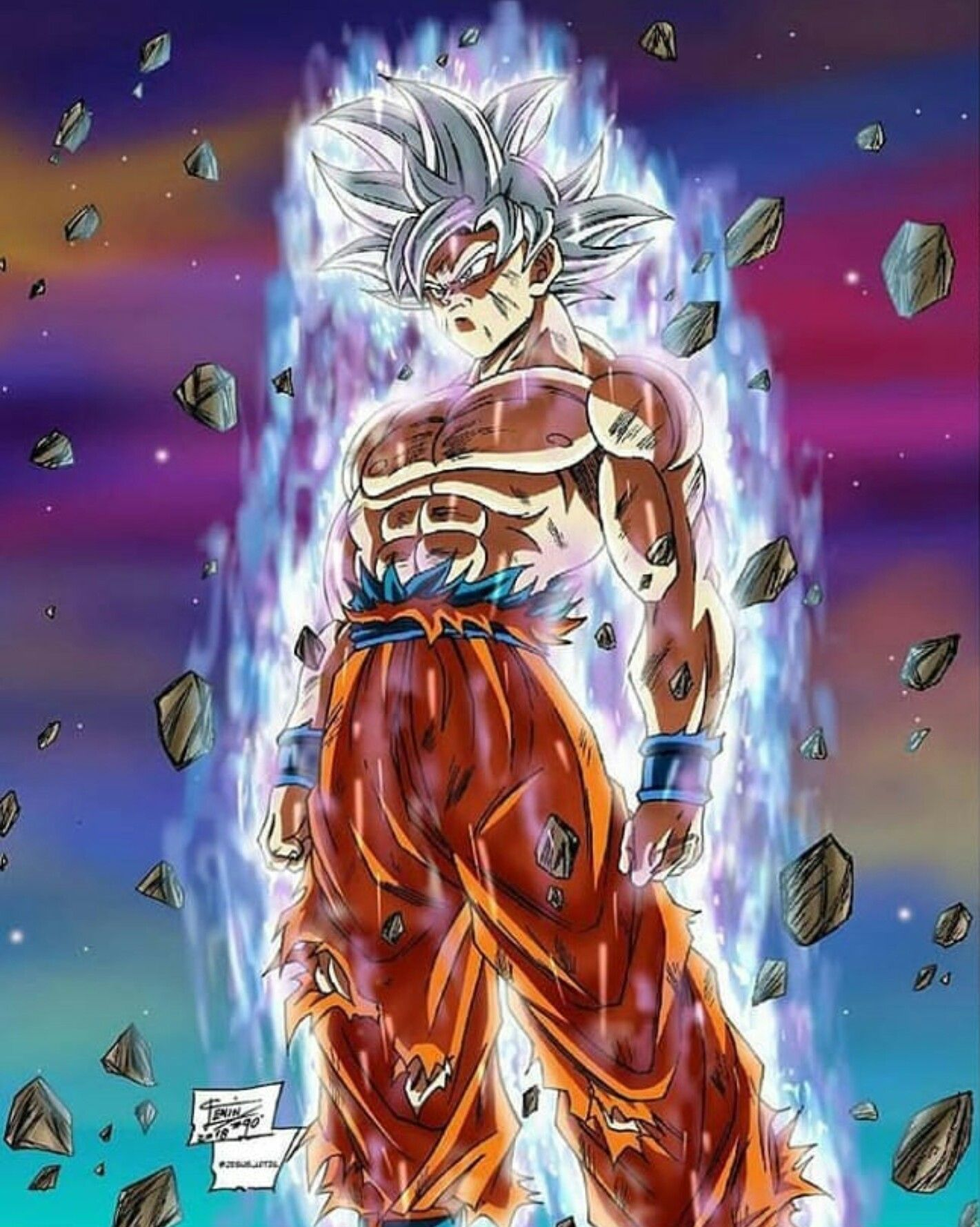 Dragon Ball Super By Reynaldo King On Mui Goku Vegito Anime Dragon