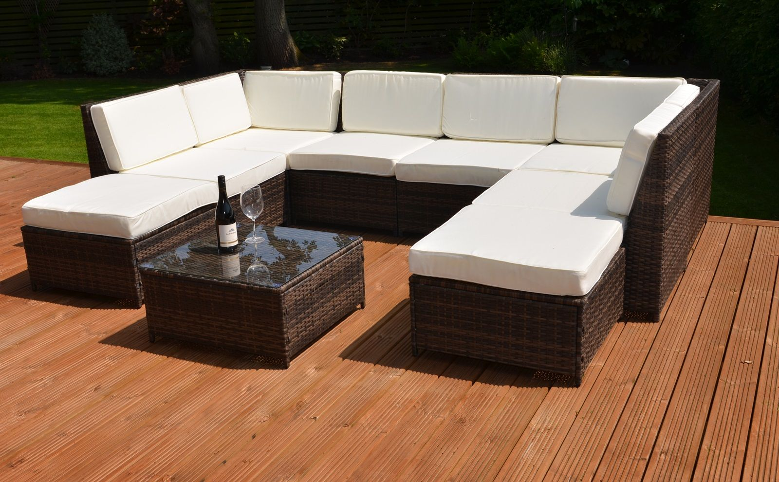 How to clean artificial rattan garden furniture