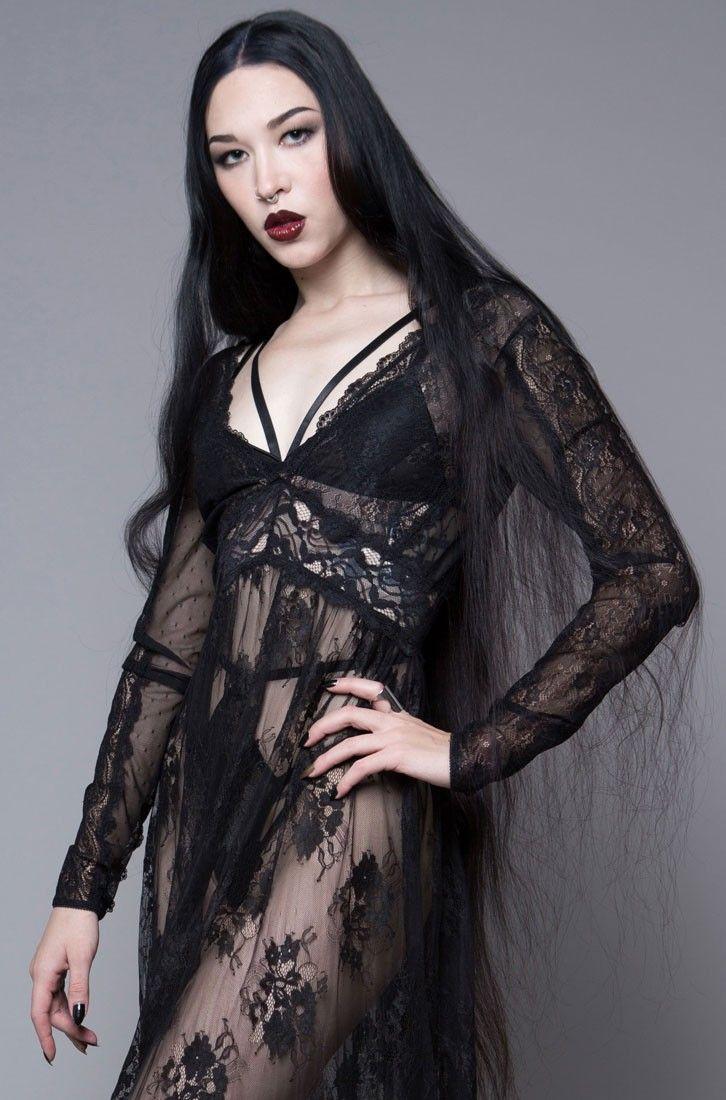 Widow Dear Departed Lace Maxi Dress Buy Online