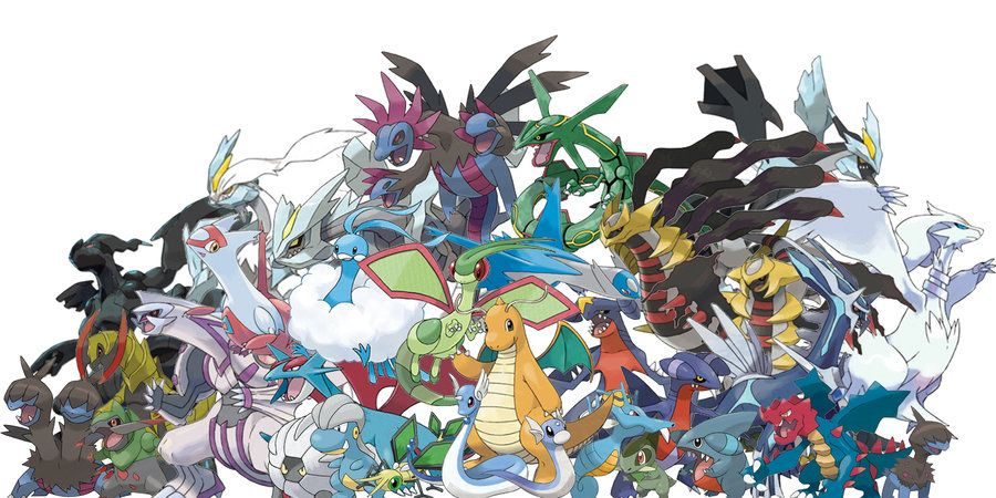 Image result for dragon type pokemon pinterest