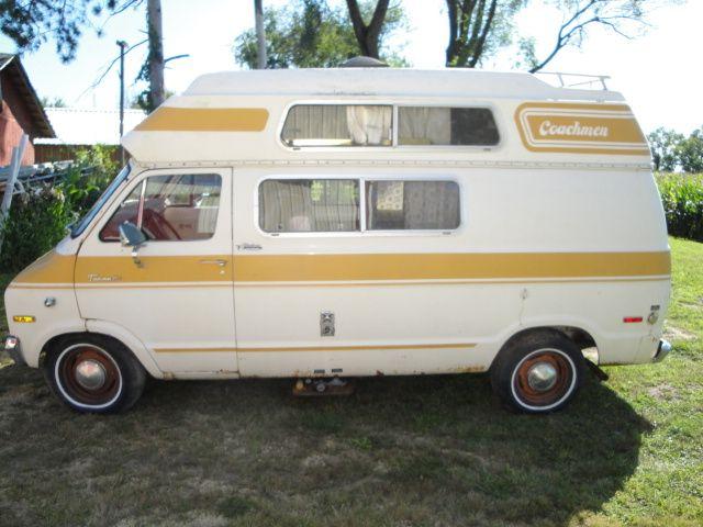 1976 Dodge Camper Van, Livin' the Dream | camping | Dodge