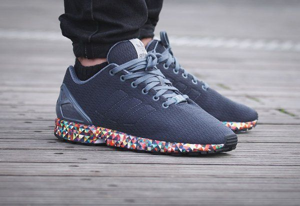 reputable site f5e7b cadbd Adidas ZX Flux Multicolor Prism Sole | Bolsos y calzados ...