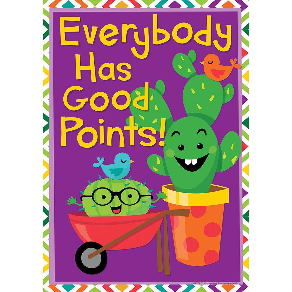 Everybody Has Good Points Classroom Poster, Cactus classroom decor ...