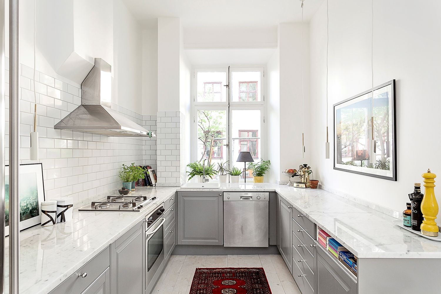 Best Kitchen Gallery: No Overhead Cupboards Looks So Much Nicer Than Conventional of Kitchens With No Overhead Cabinets on rachelxblog.com
