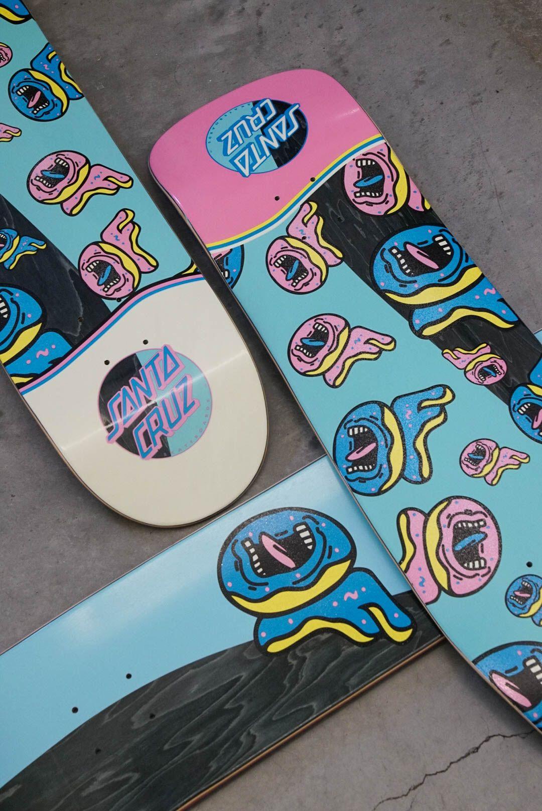 Santa Cruz x Odd Future | Summer | Skateboard, Skateboard