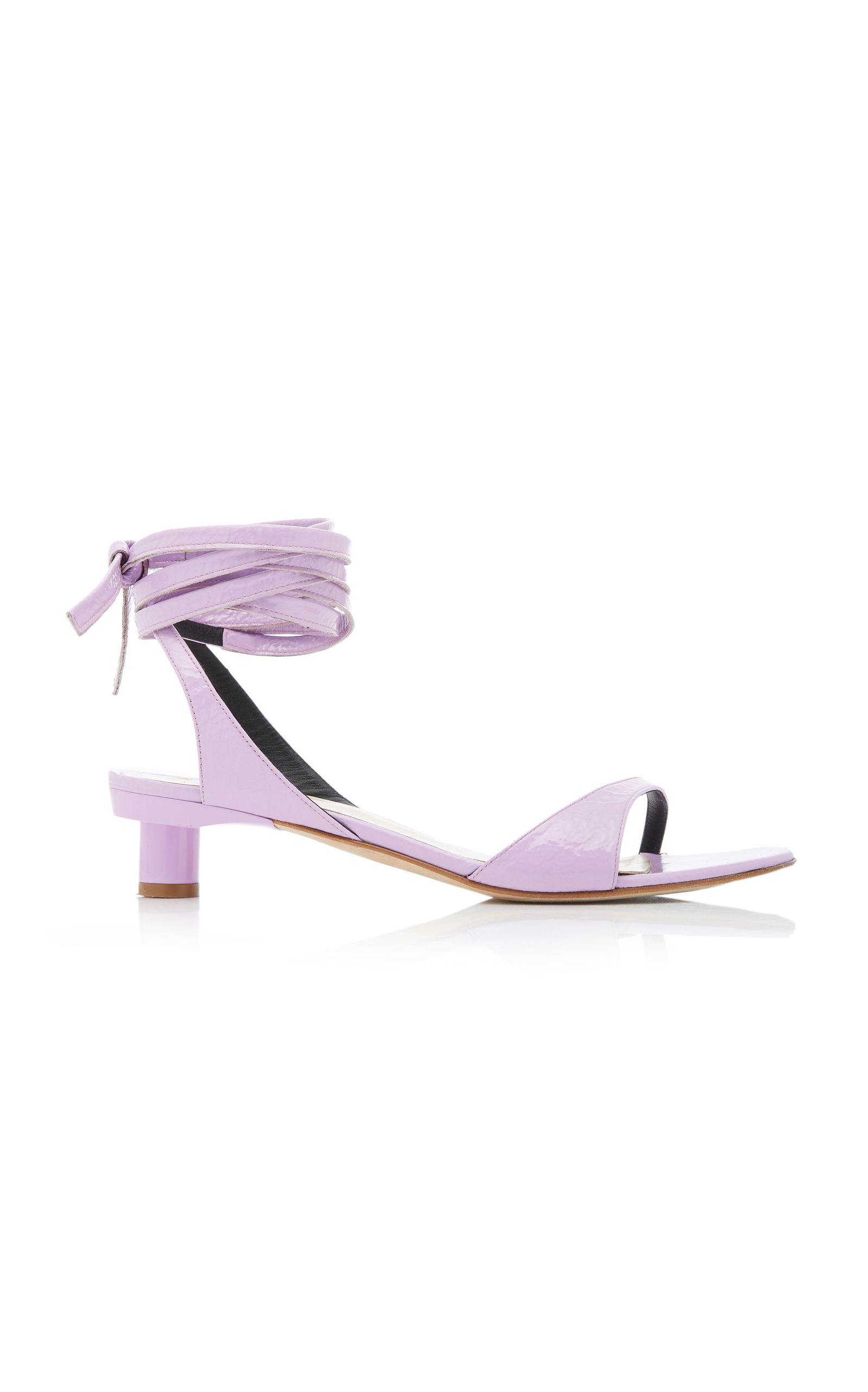 411767401 Scott Patent Leather Sandal by TIBI for Preorder on Moda Operandi