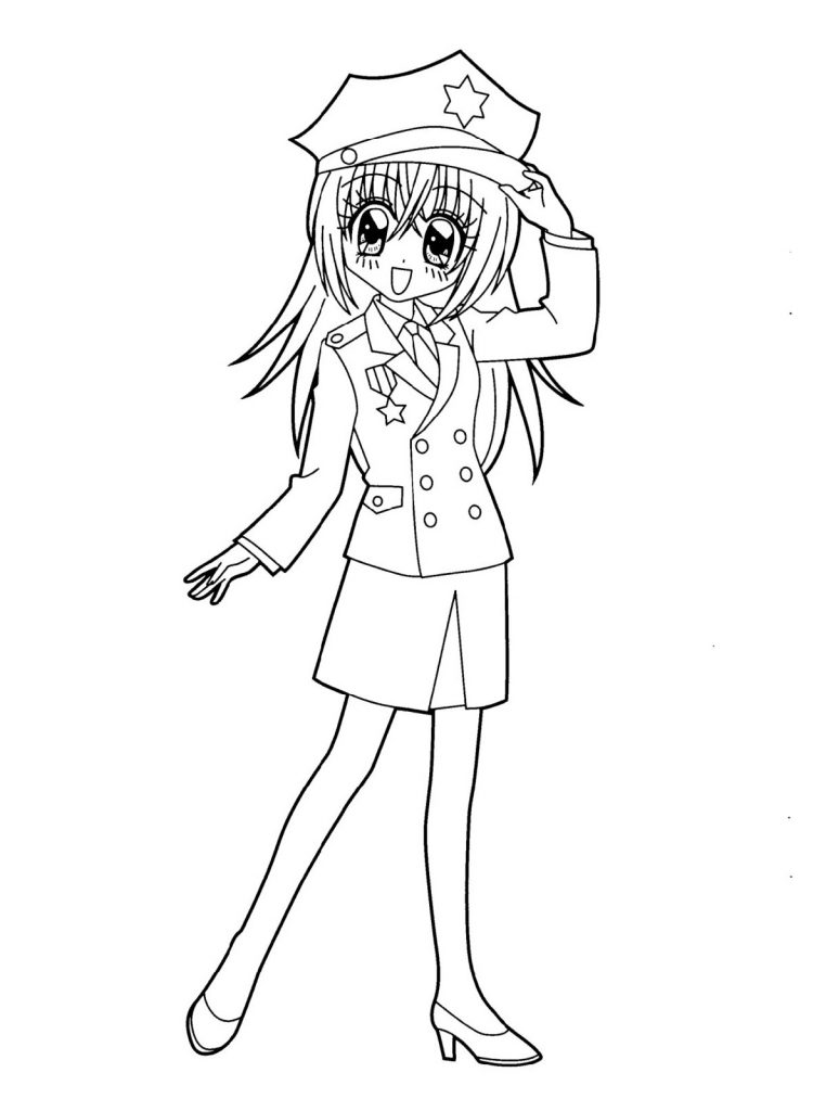 Printable Anime Coloring Pages 101 Coloring Coloring Pages For Girls Anime School Girl Cartoon Coloring Pages