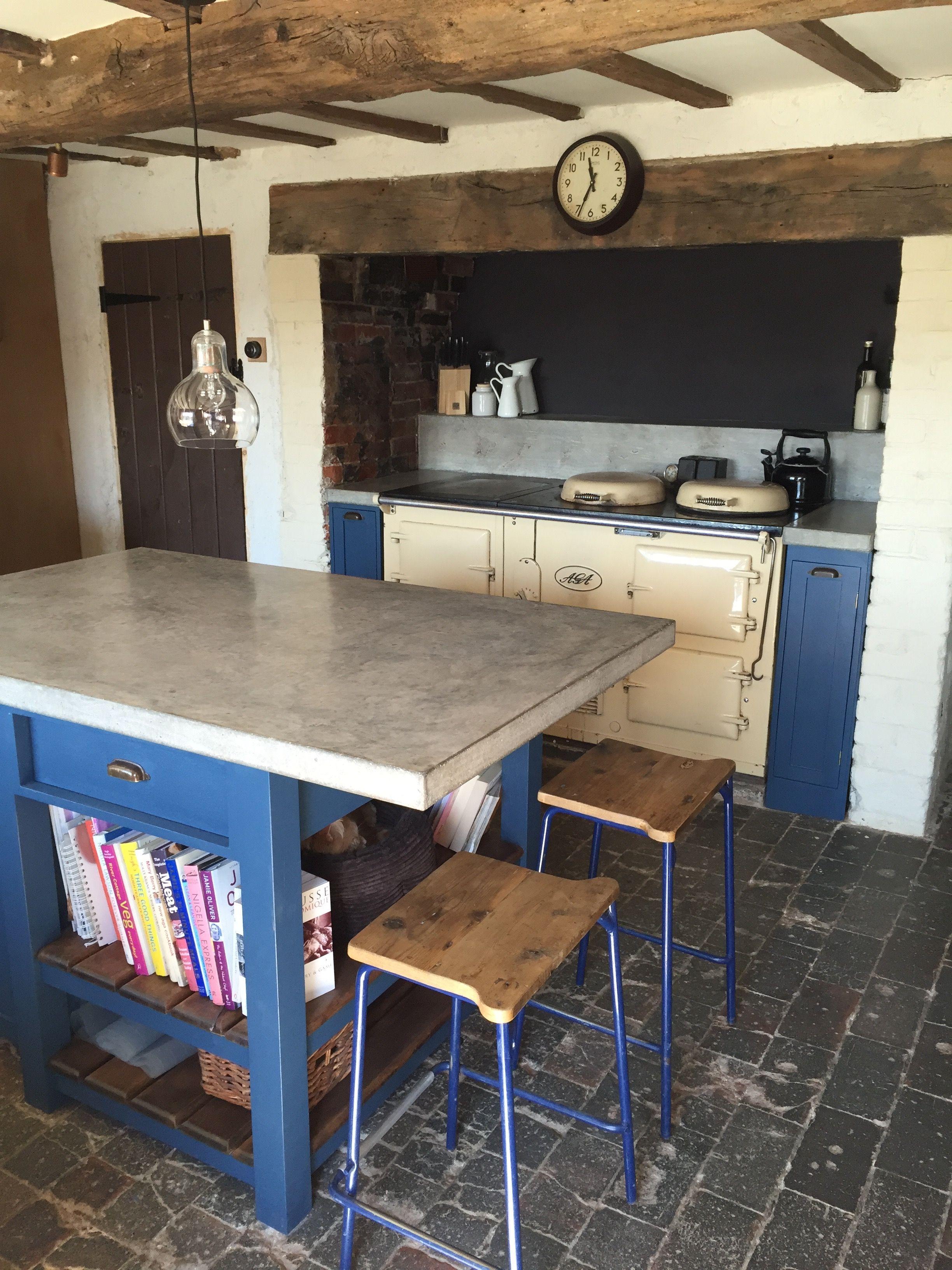Polished Concrete Worktop Island Www Arnoldskitchens Co Uk Polished Concrete Kitchen Bespoke Kitchens Concrete Kitchen