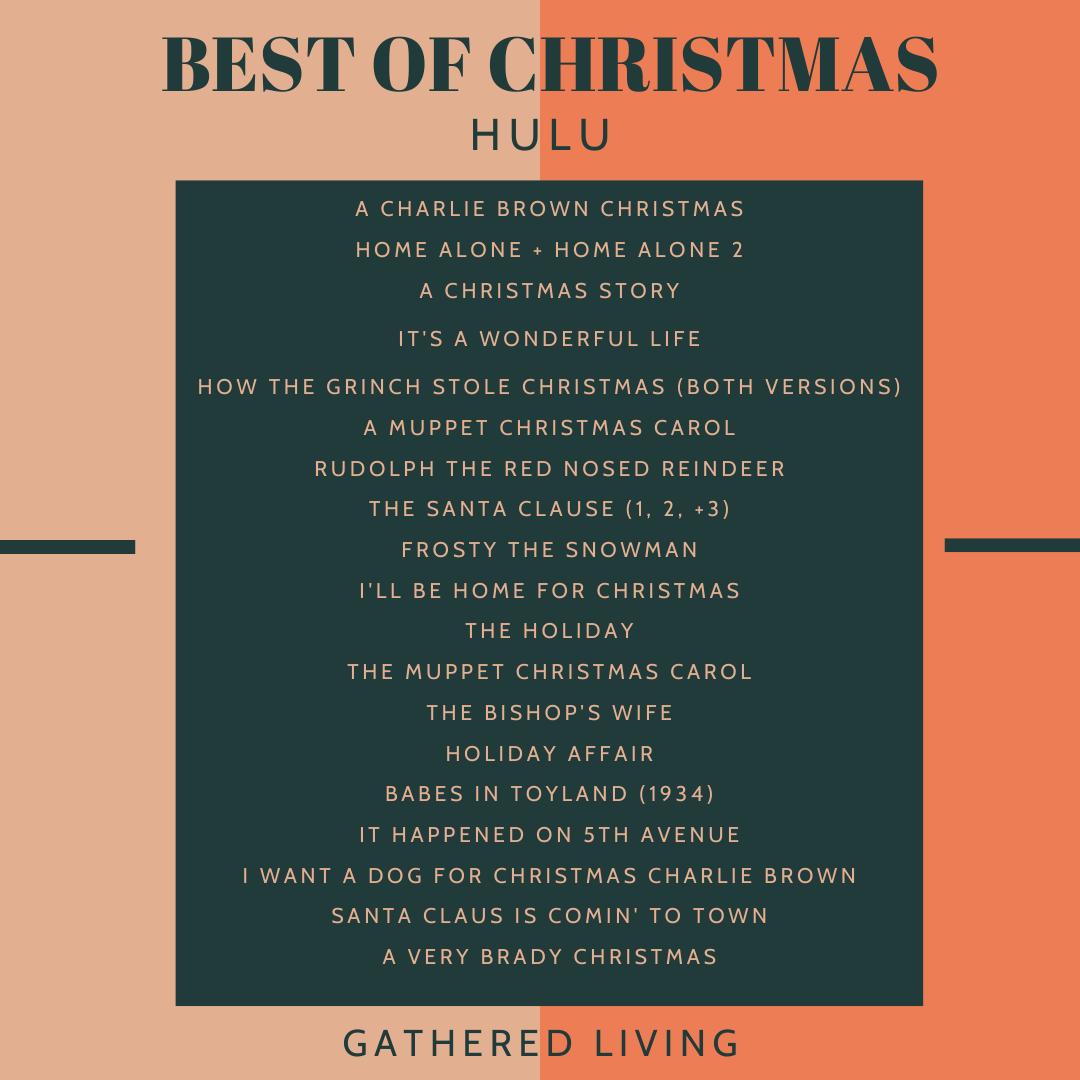Best of Christmas on Amazon Prime, Netflix, + Hulu Best