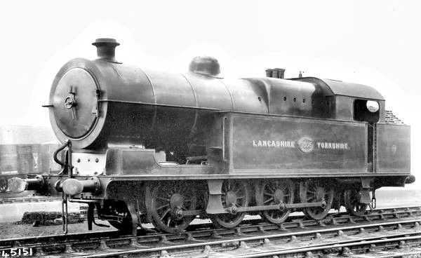 Lancashire and Yorkshire 0-8-2 by Hughes at Horwich