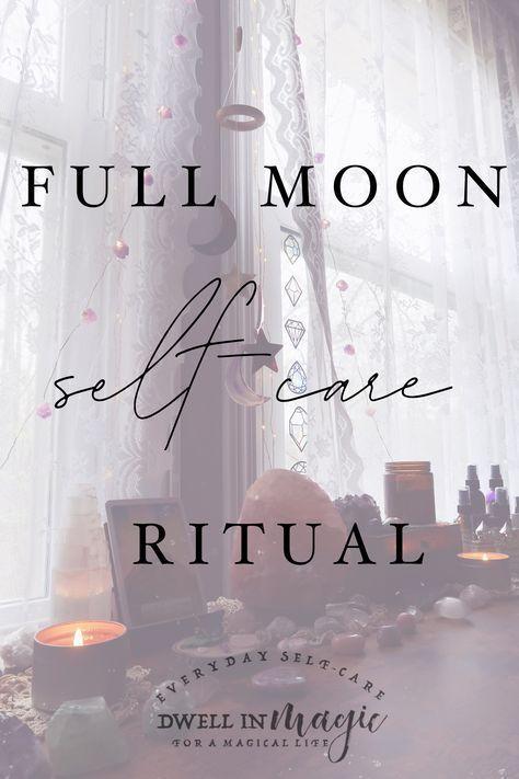 A Full Moon Ritual for Releasing & Celebratin