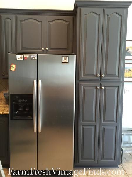 Queenstown Gray Milk Paint New Kitchen Cabinets Kitchen