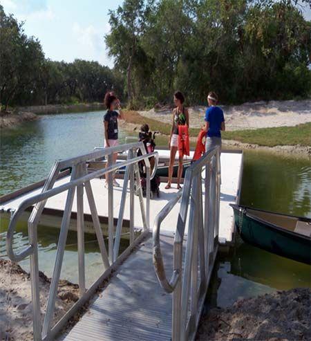 ADA Camp Dock ADA Floating Docks Pinterest