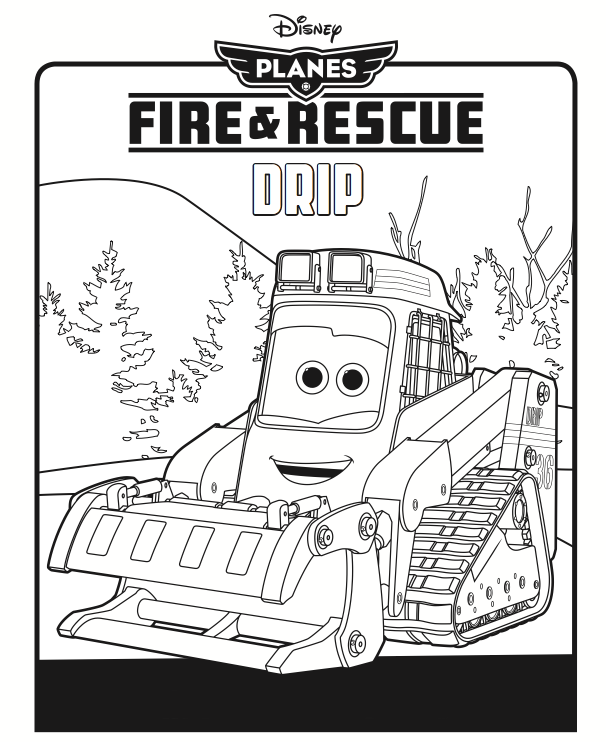Windlifter Coloring Page Disney Planes Coloring Pages Disney Coloring Pages