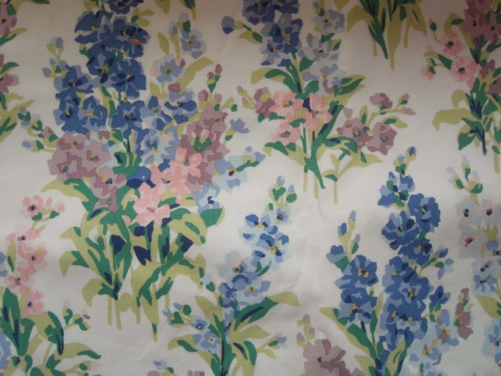 Vintage Laura Ashley Fabric And Trims Pinterest Laura Ashley - Laura ashley curtains purple