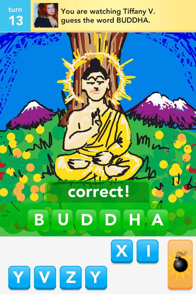 My Draw Something Buddha