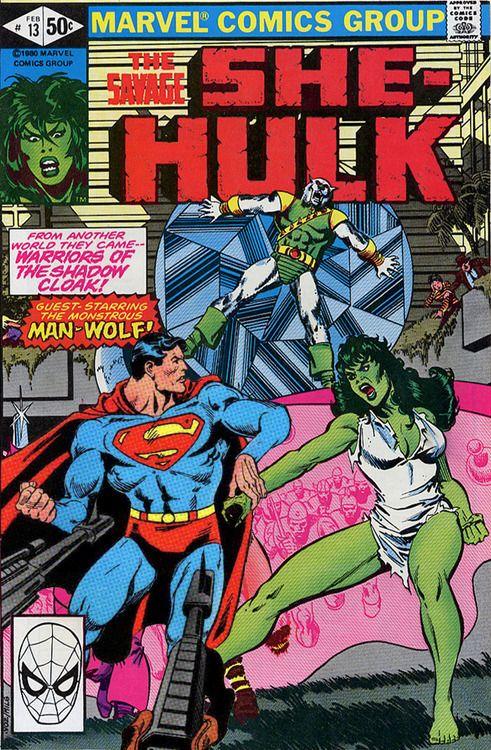 She Hulk Superman Mashup Comic Books Comic Book Cover