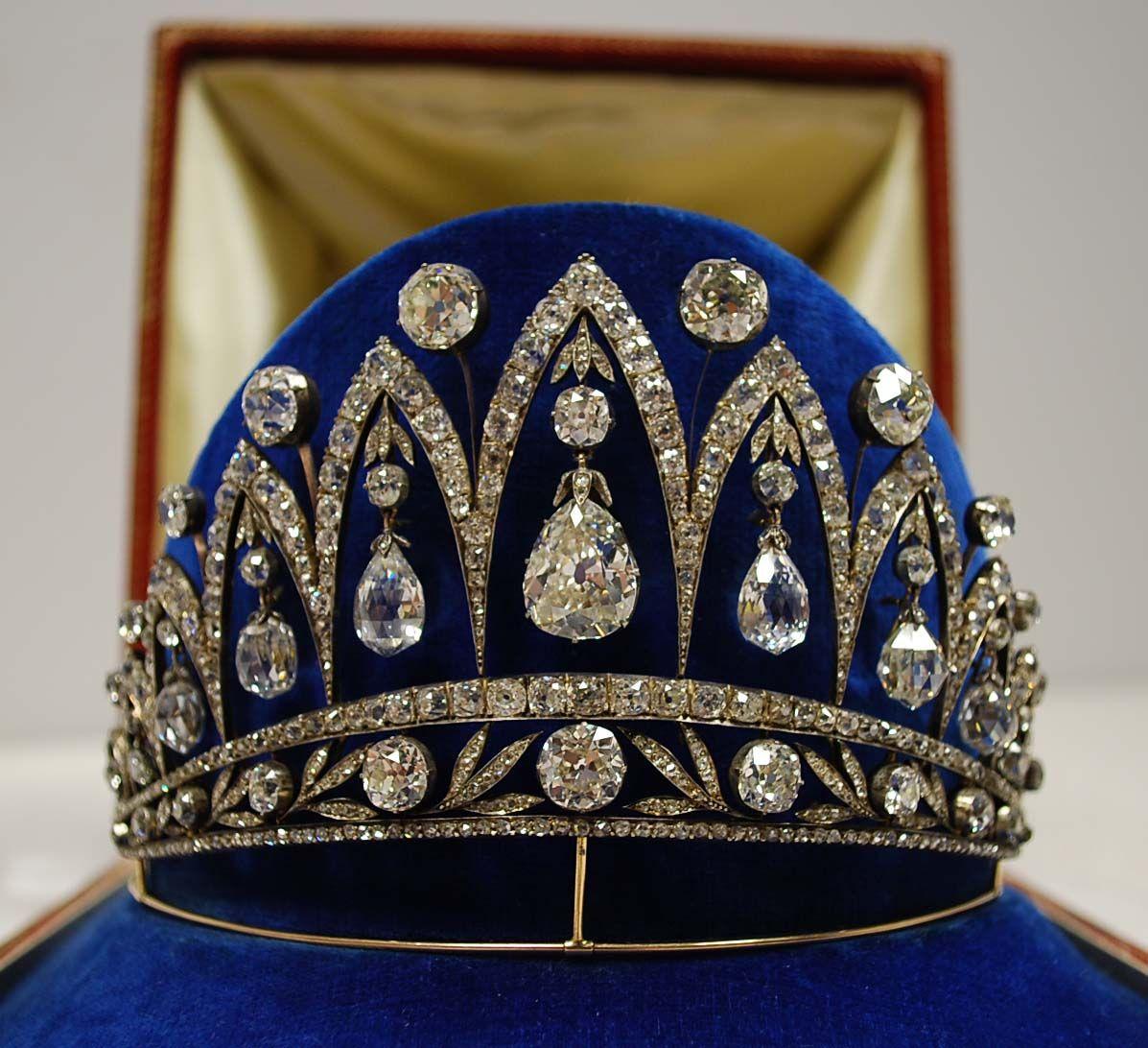Faberge Diamond Tiara - Bowers Museum (12/27/12)