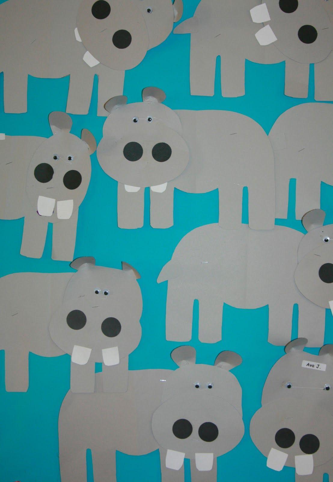 Nancy Nolan S Kindergarten Letter H Week Humongus Hippos And Animal Habitats