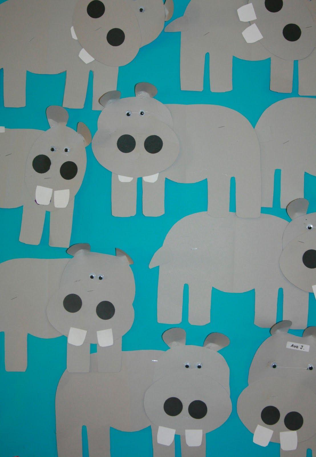 Nancy Nolan S Kindergarten Letter H Week Humongus Hippos And Animal Habitats