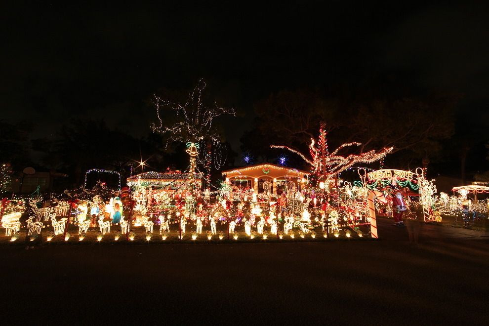 Mark from Fort Lauderdale: Nominee for Best Private Lights Display! http://www.10best.com/awards/travel/best-private-lights-display/