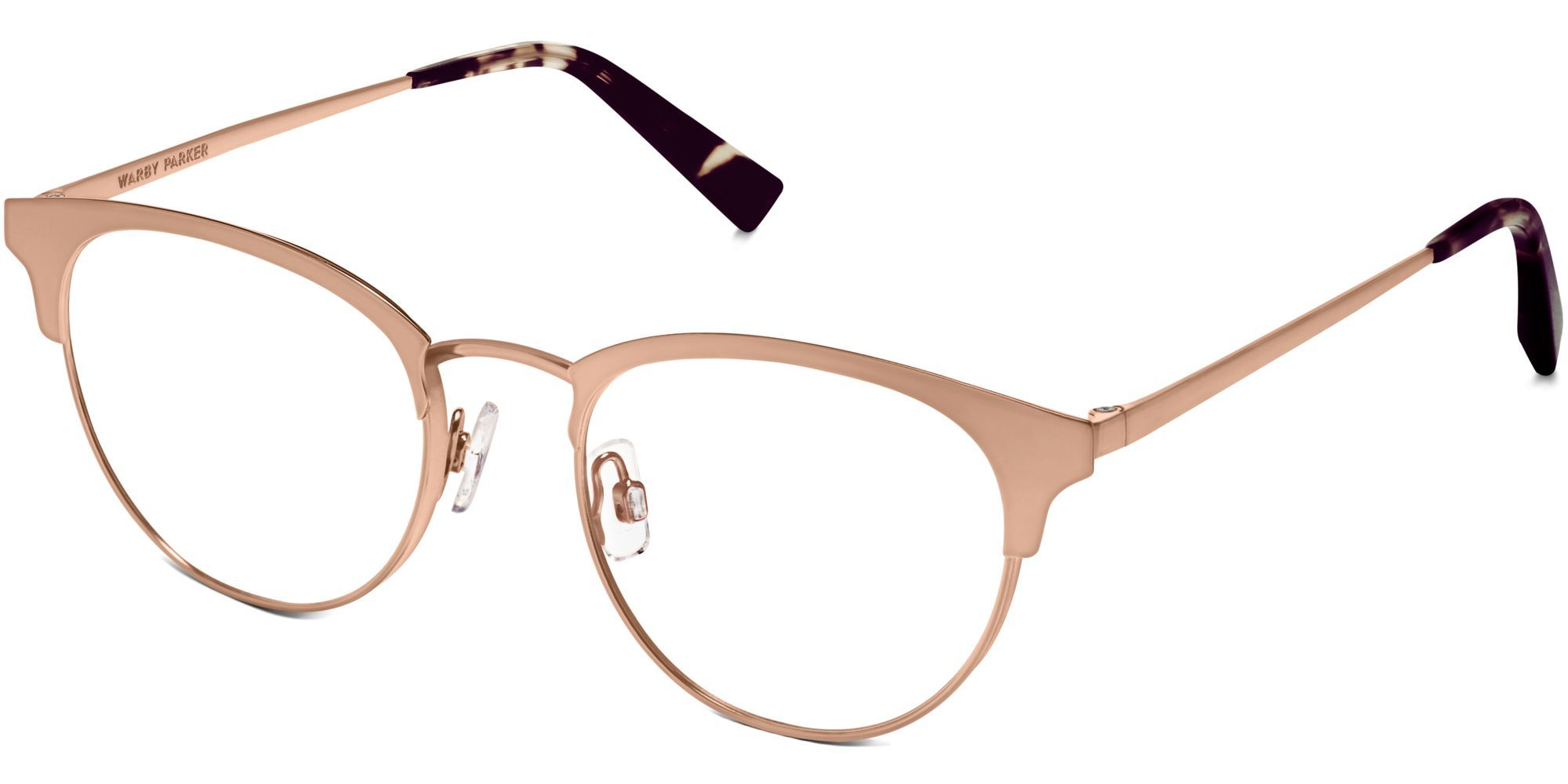 7e1ba99a64 Warby Parker Blair in Rose Gold