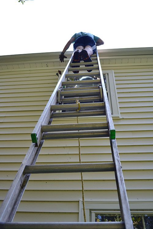 Are You Game To Climb Up On A Ladder And Risk An Accident Just To Clean The Gutters Why Not Avoid The Risk And Hassles Cleaning Gutters Gutter Gutter Cleaner